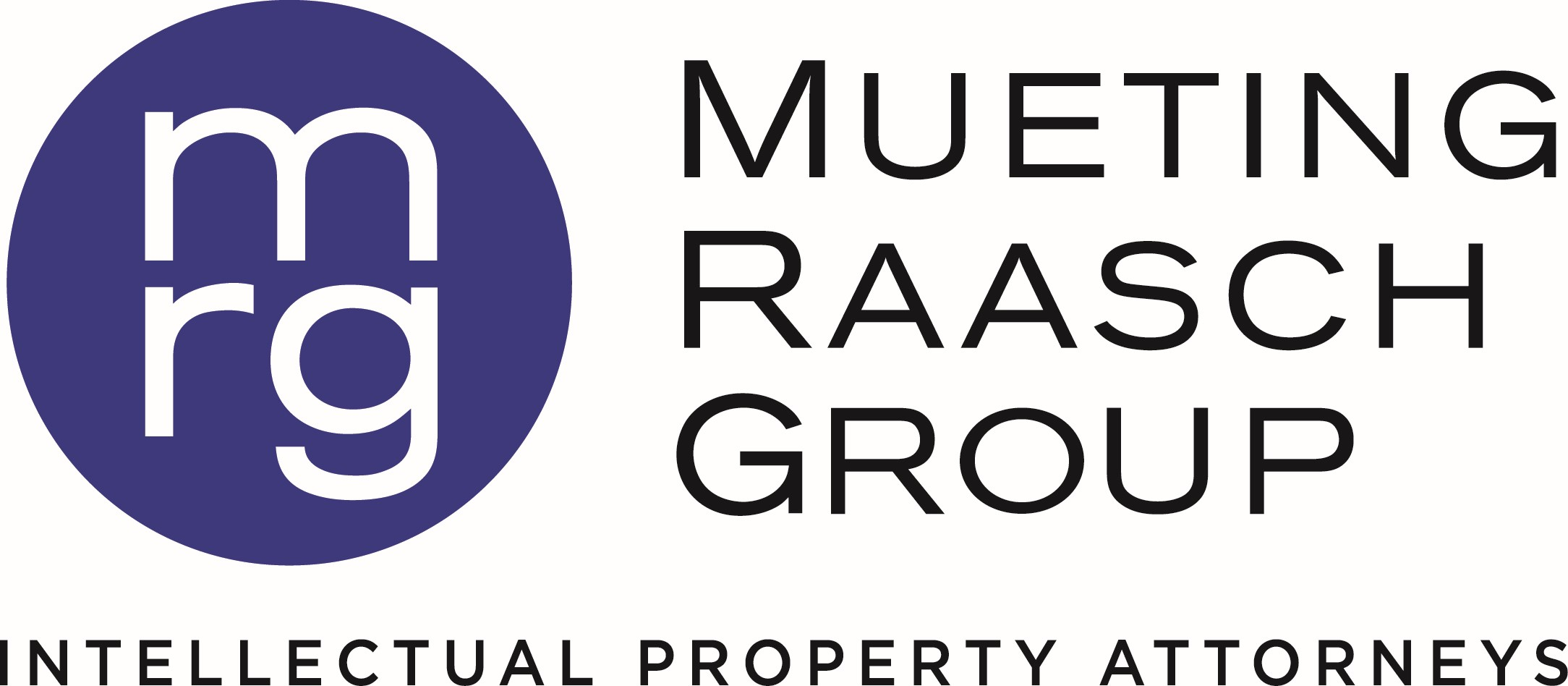 Mueting Raasch Group Logo Vertical Blue