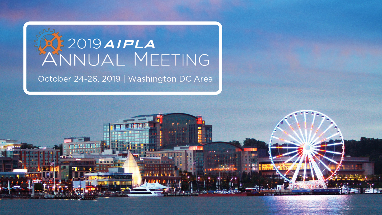 2019 Annual Meeting | AIPLA