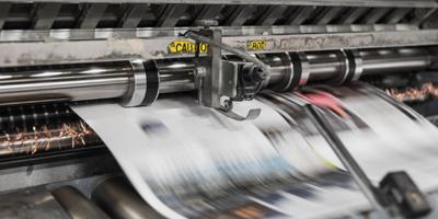 Printing web
